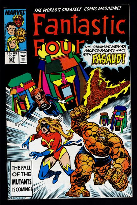 1987 Marvel Fantastic Four #309 VF/NM