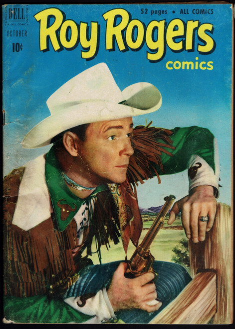 1946 Dell Roy Rogers #46 GD