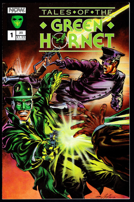 1992 Now Comics Tales Of The Green Hornet #1 VF+