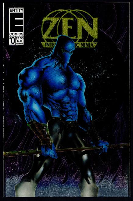 1993 Entity Comics Zen Intergalactic Ninja Color Special #0 NM