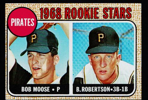 1968 Topps #036 Pirates Rookies EX