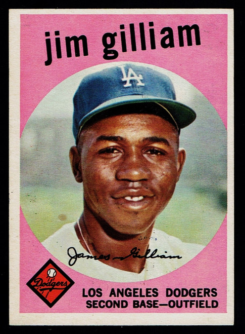 1959 Topps #306 Jim Gilliam EXMT+