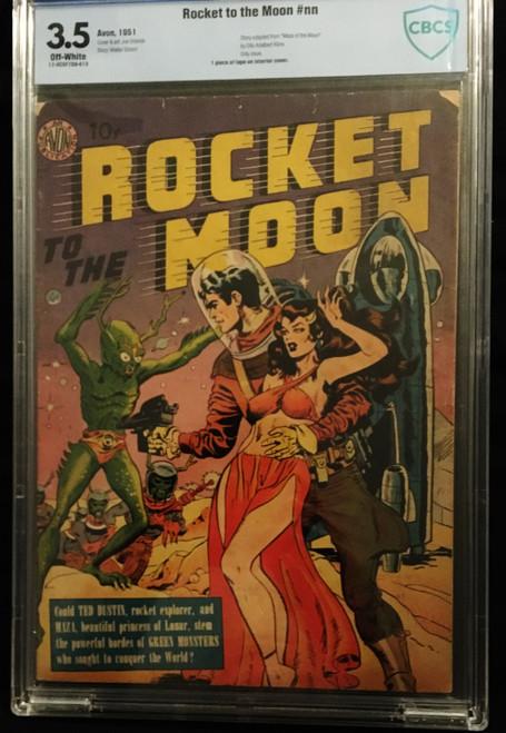1951 Avon Rocket To The Moon  #NN CBCS 3.5