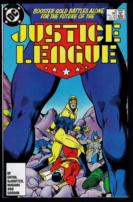 1989 DC Justice League #04 VF