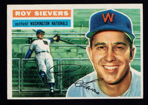 1956 Topps #075 Roy Sievers GB EXMT+