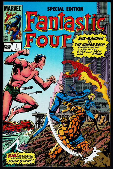 1984 Marvel Fantastic Four Special Edition #1 VF-