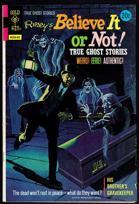 1974 Gold Key Ripley's Believe It or Not #45 VG+
