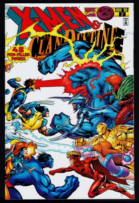 1995 Marvel X-Men Clan Destine #2 FN+