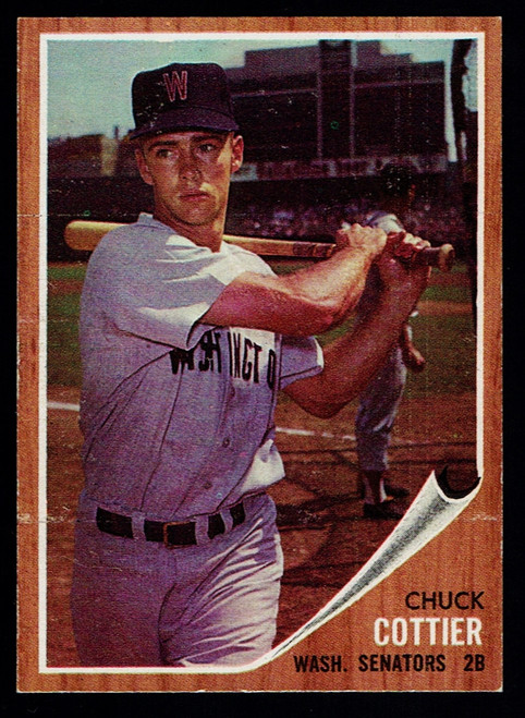 1962 Topps #027 Chuck Cottier EX+