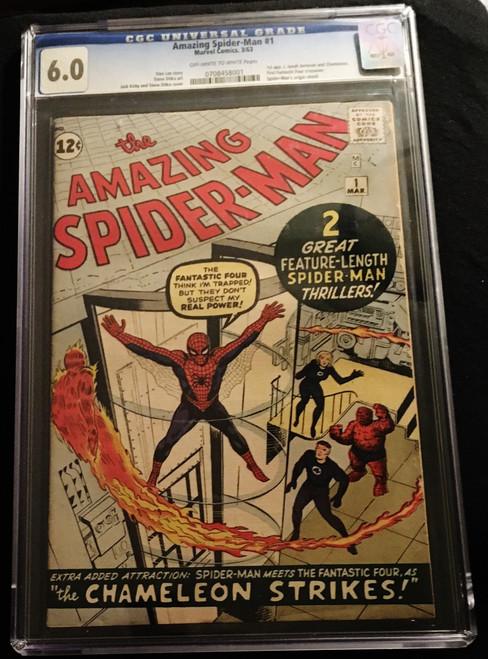 1963 Marvel Amazing Spider-Man #1 CGC 6.0