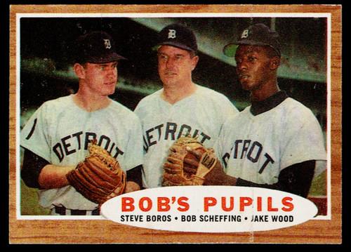 1962 Topps #072 Bob's Pupils  EX+