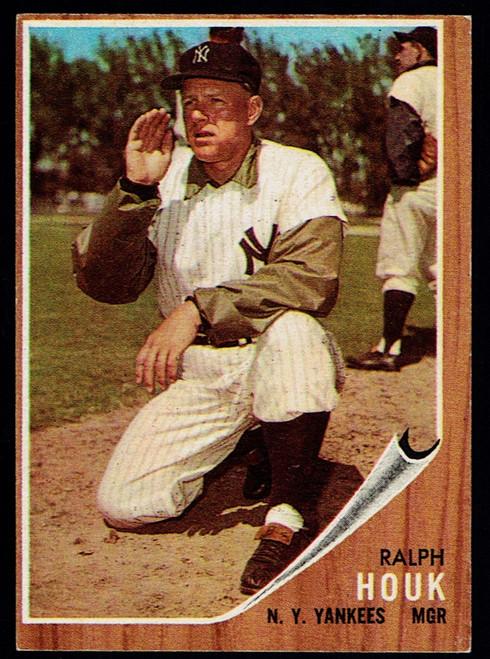 1962 Topps #088 Ralph Houk  VGEX