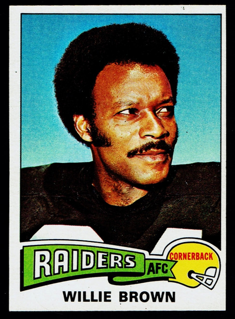 1975 Topps #095 Willie Brown EXMT
