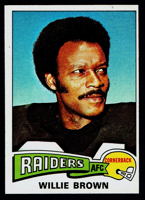 1975 Topps #095 Willie Brown EXMT B
