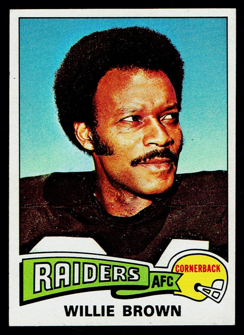 1975 Topps #095 Willie Brown NM+