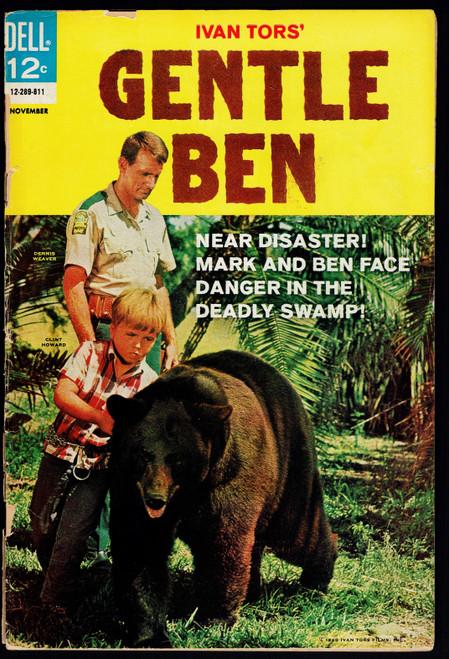 1968 Dell Gentle Ben #4 Poor