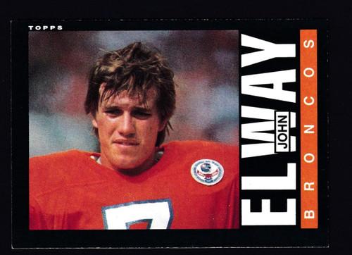 1985 Topps #238 John  Elway EX+