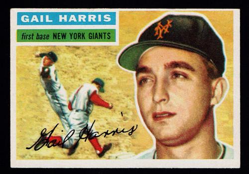 1956 Topps #091 Gail Harris WB EX