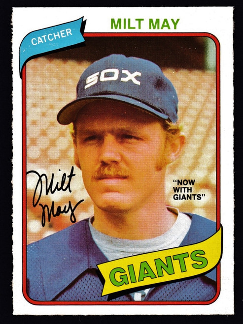 1980 OPC #340 Milt May NM