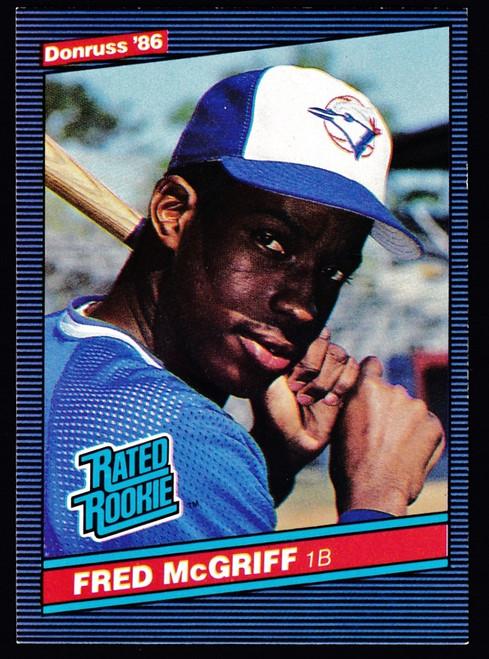 1986 Donruss #028 Fred McGriff RC