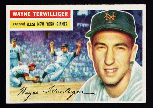 1956 Topps #073 Wayne Terwilliger WB EX