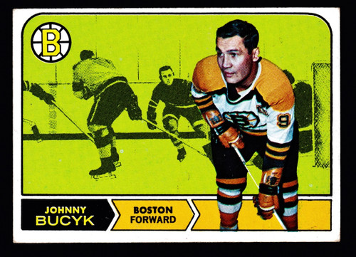 1968 Topps #005 Johnny Bucyk VG