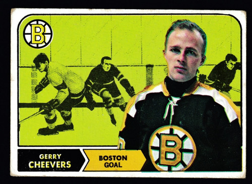 1968 Topps #001 Gerry Cheevers GD