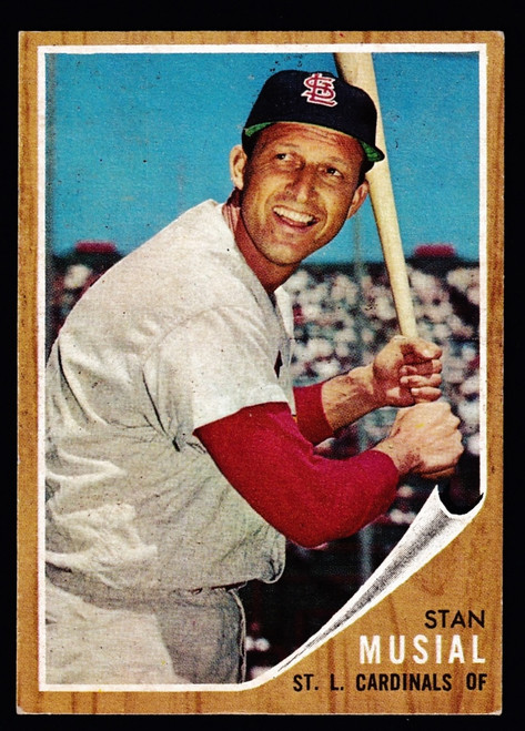 1962 Topps #050 Stan Musial EX