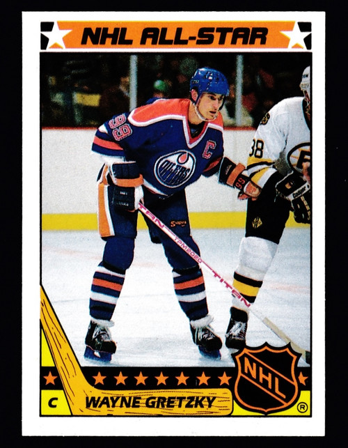 1987 Topps Stickers #05 Wayne Gretzky AS NMMT or Better