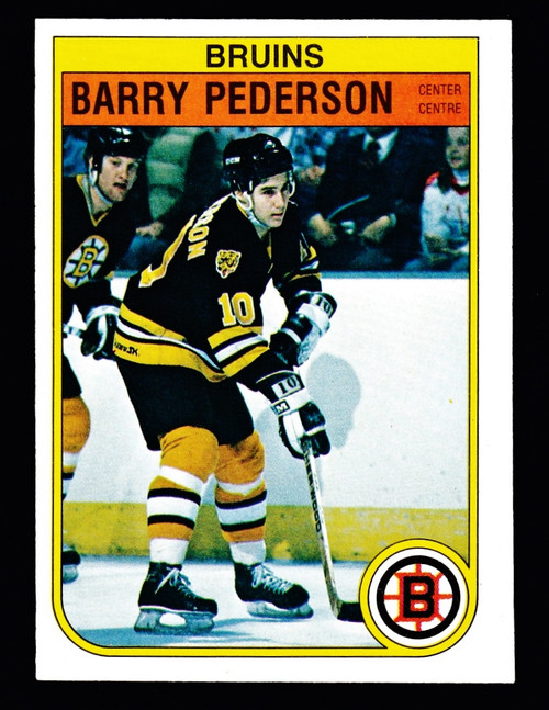 1982 OPC #020 Barry Pederson RC VG