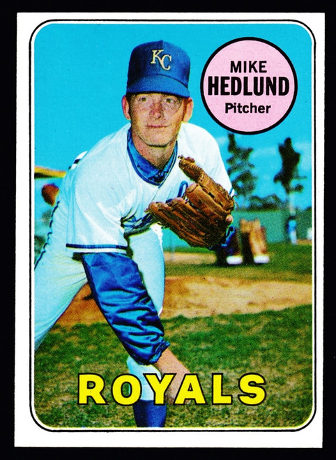 1969 Topps #591 Mike Hedlund EXMT