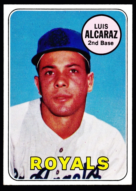 1969 Topps #437 Luis Alacaraz RC EXMT
