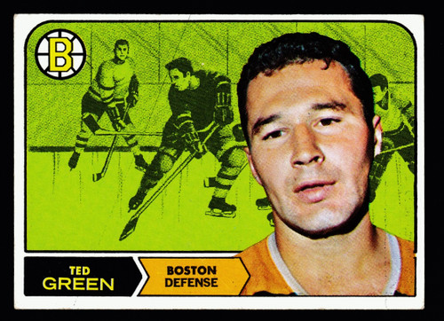 1968 Topps #004 Ted Green Poor