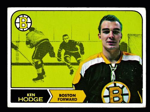 1968 Topps #008 Ken Hodge VG