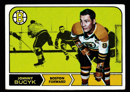 1968 Topps #005 Johnny Bucyk VG B