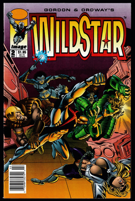1993 Image Wildstar #2 FN+