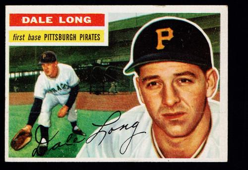 1956 Topps #056 Dale Long WB VG