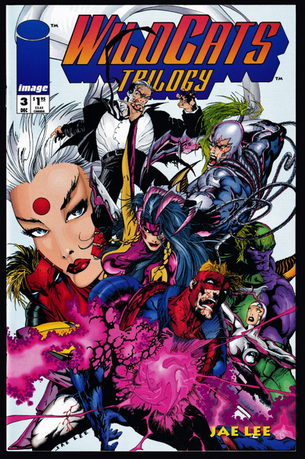1993 Image Wildcats Trilogy #3 VF/NM