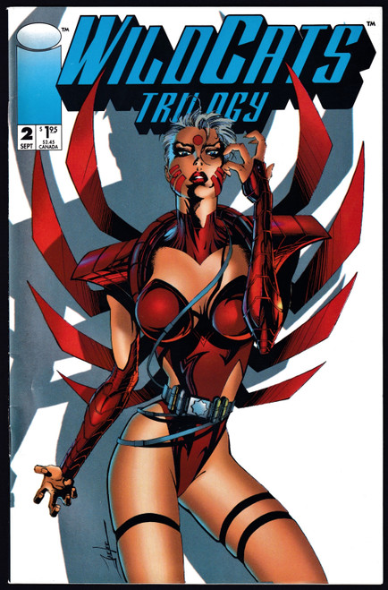 1993 Image Wildcats Trilogy #2 FN-
