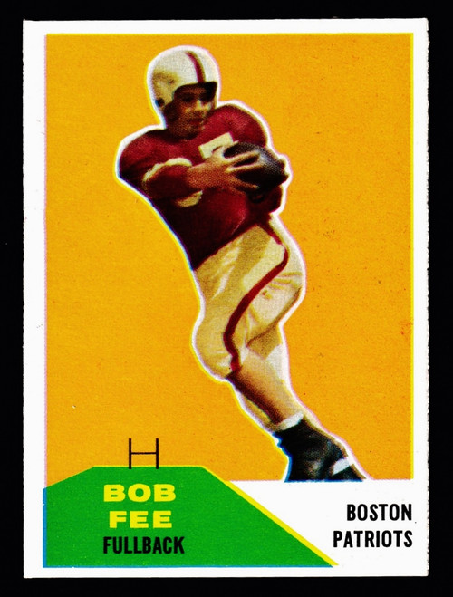 1960 Fleer #029 Bob Fee RC NM