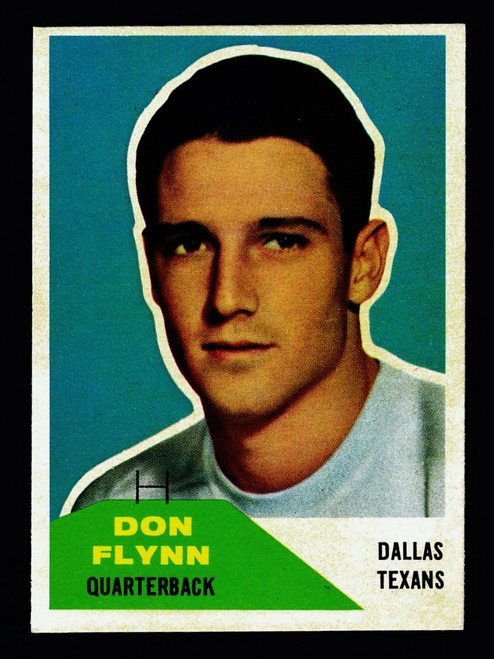 1960 Fleer #032 Don Flynn RC EXMT