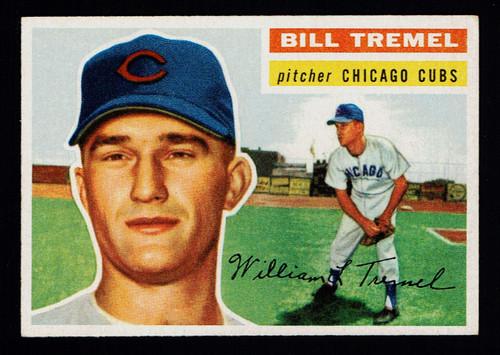 1956 Topps #096 Bill Tremel WB EX+