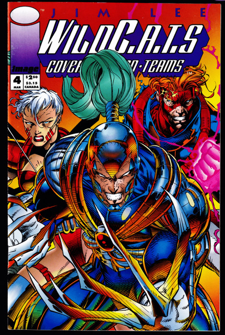 1993 Image WILDC.A.T.S #4 VGEX