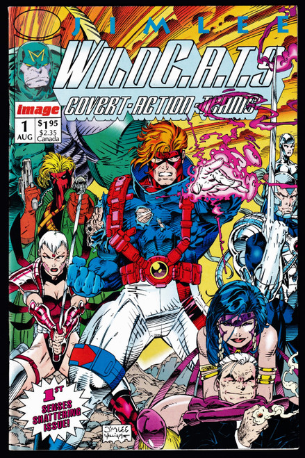 1992 Image WILDC.A.T.S #1 VG