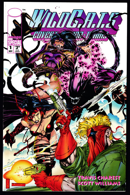 1993 Image WILDC.A.T.S Special #1 VF-