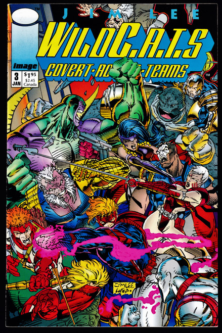 1992 Image WILDC.A.T.S #3 FN+