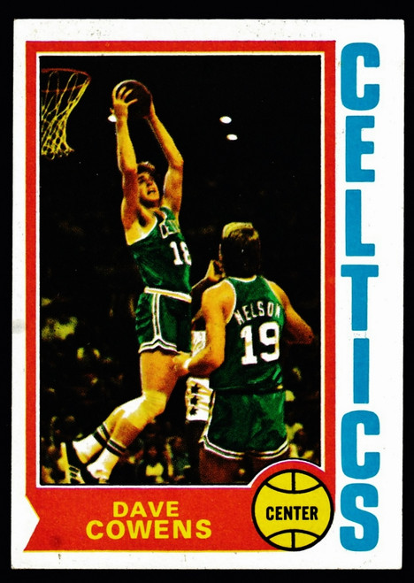 1974 Topps #155 Dave Cowens EX-