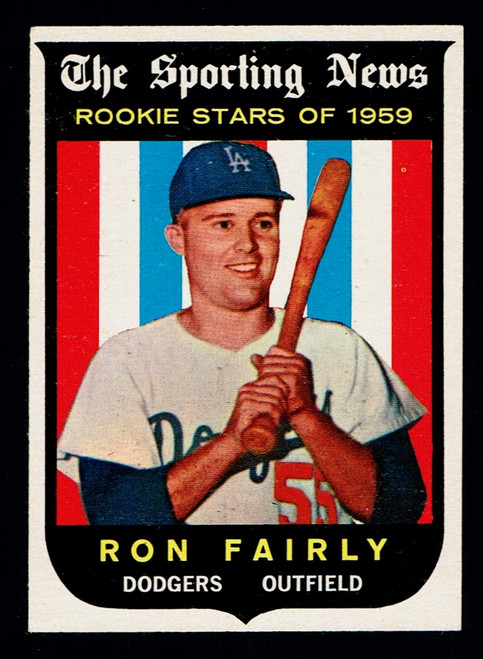 1959 Topps #125 Ron Fairly RC EXMT