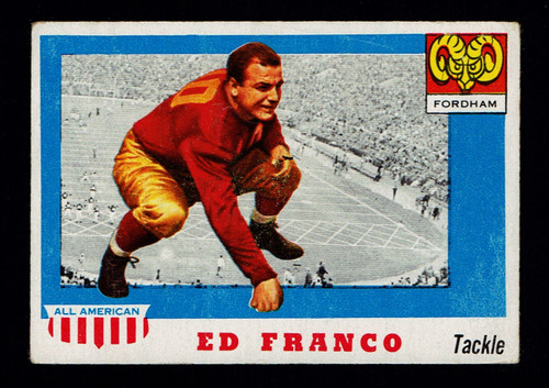 1955 Topps All American #058 Ed Franco VG+