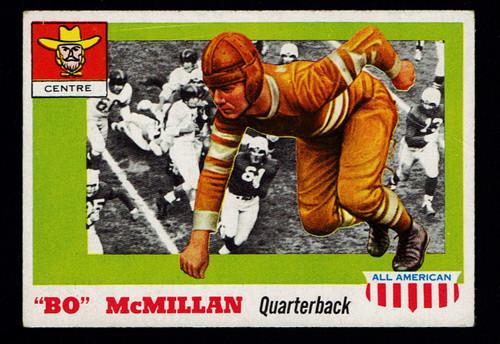 1955 Topps All American #047 Bo McMillan Poor